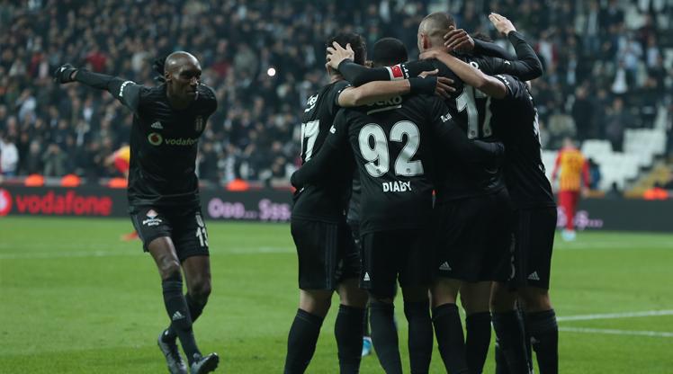 Beşiktaş İstikbal Mobilya Kayserispor maç özeti