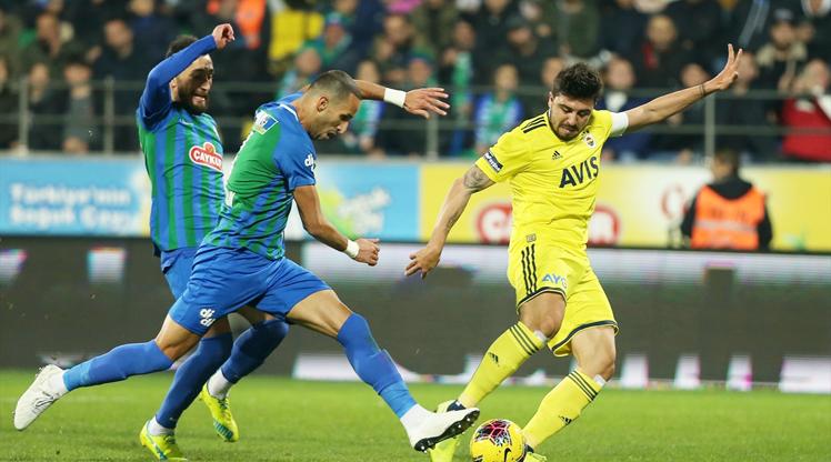 Çaykur Rizespor Fenerbahçe maç özeti