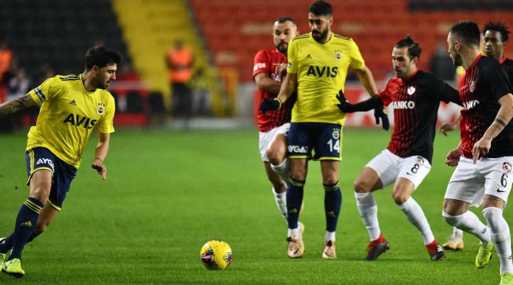 Gaziantep FK Fenerbahçe maç özeti