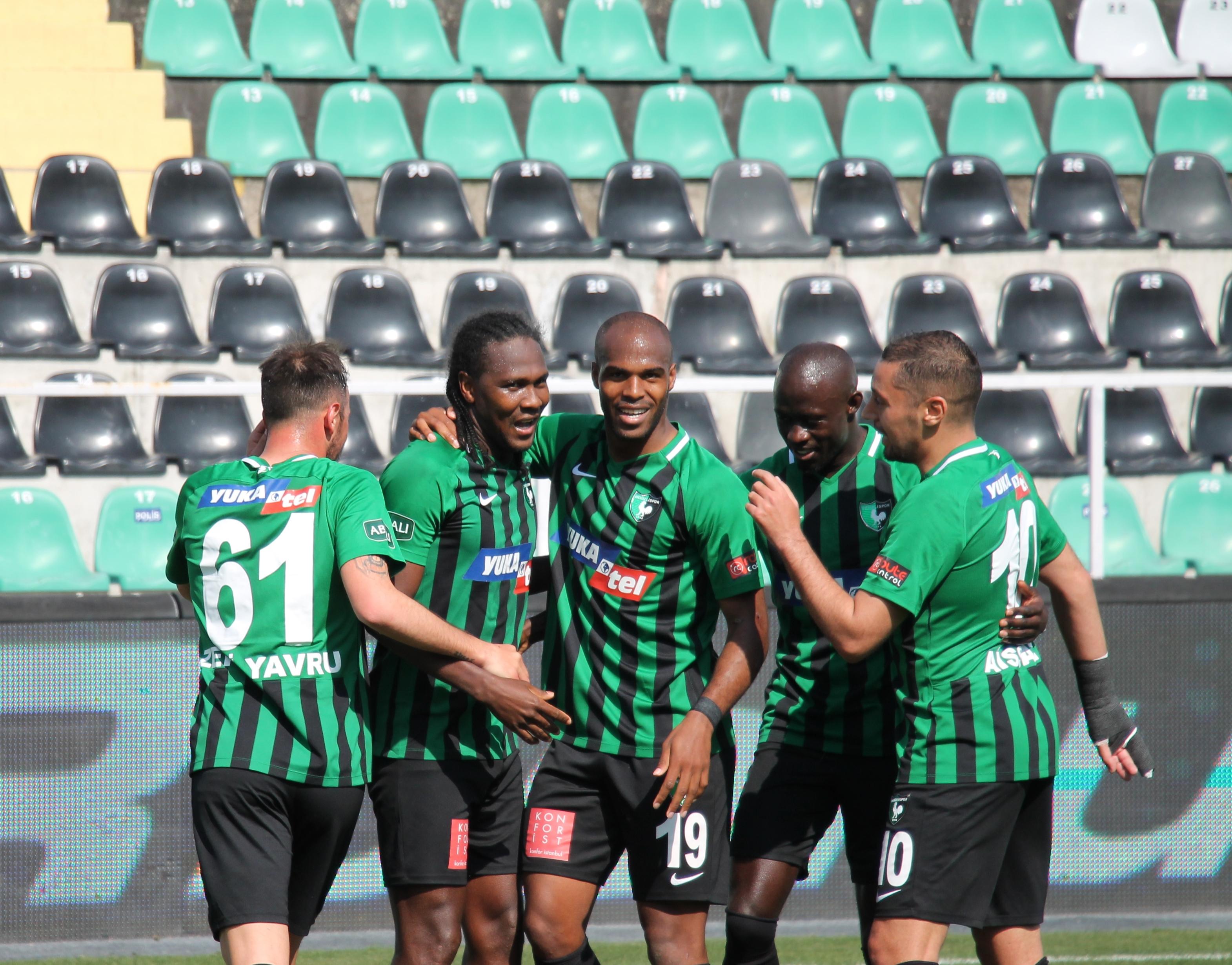 Yukatel Denizlispor Gençlerbirliği maç özeti