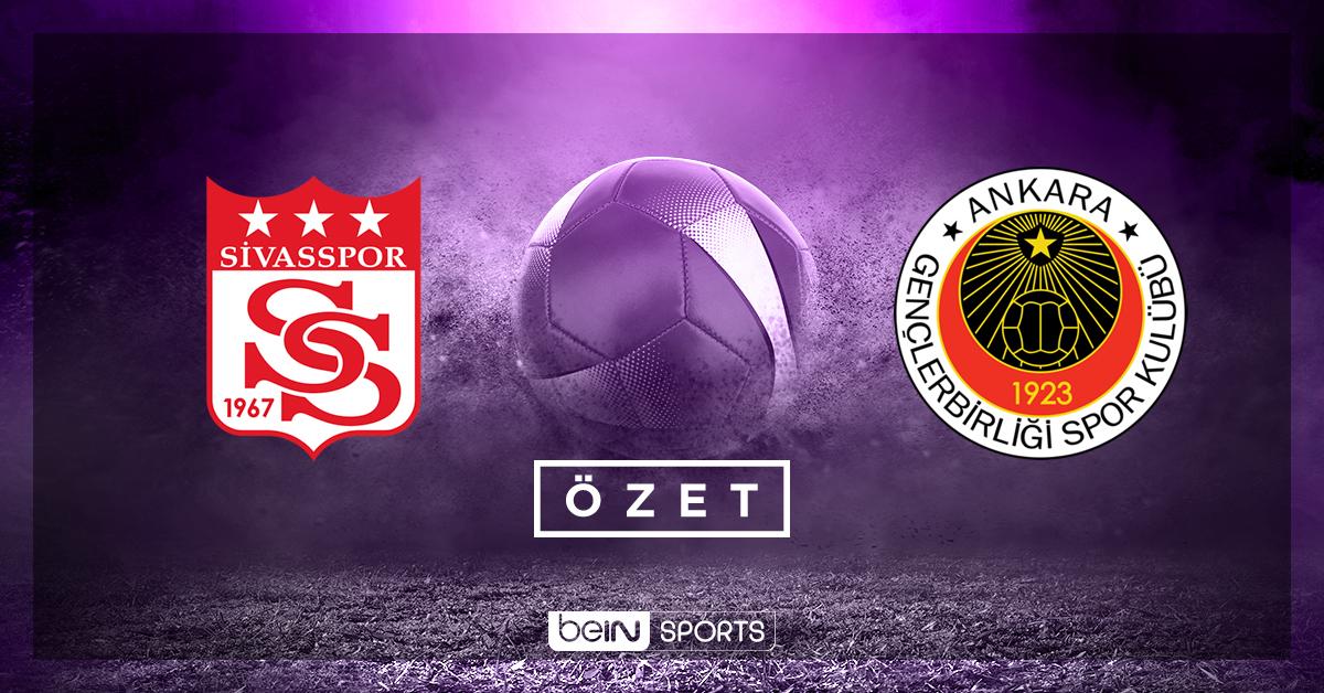 Demir Grup Sivasspor Gençlerbirliği maç özeti