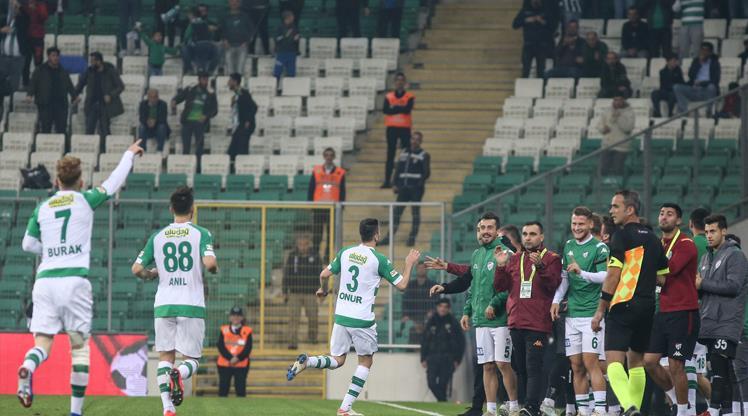 Bursaspor Keçiörengücü maç özeti