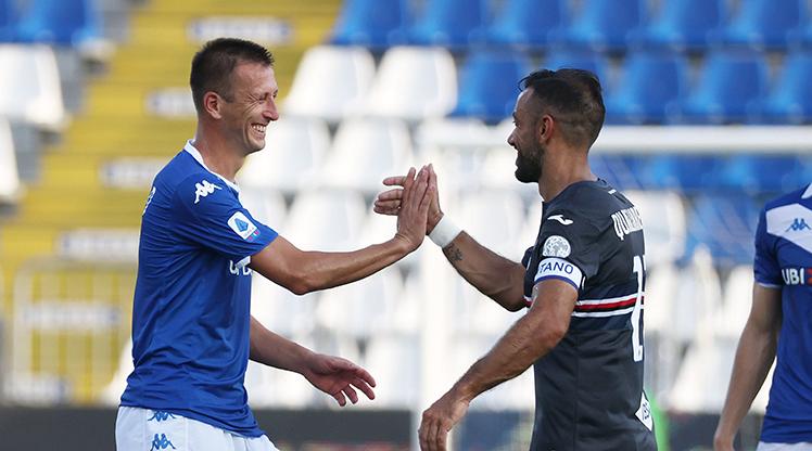 Brescia Sampdoria maç özeti