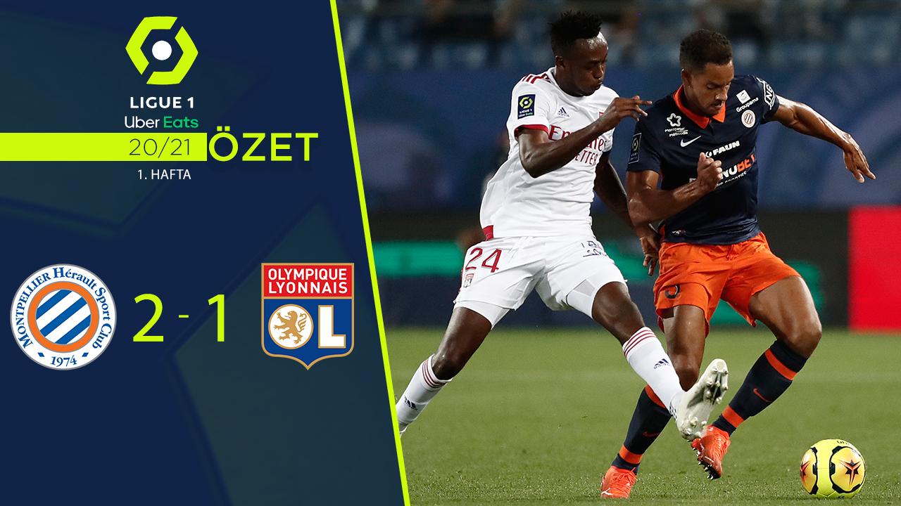 Montpellier Olympique Lyon maç özeti