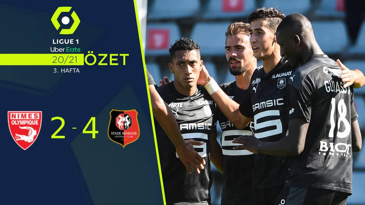 Nimes Olympique Rennes maç özeti