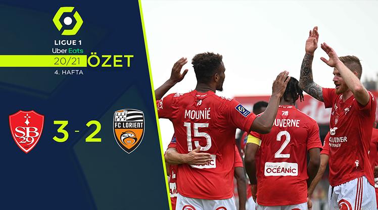 Stade Brest 29 Lorient maç özeti