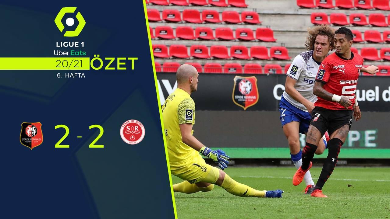 Rennes Reims maç özeti