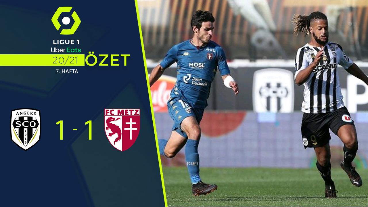 Angers Metz maç özeti