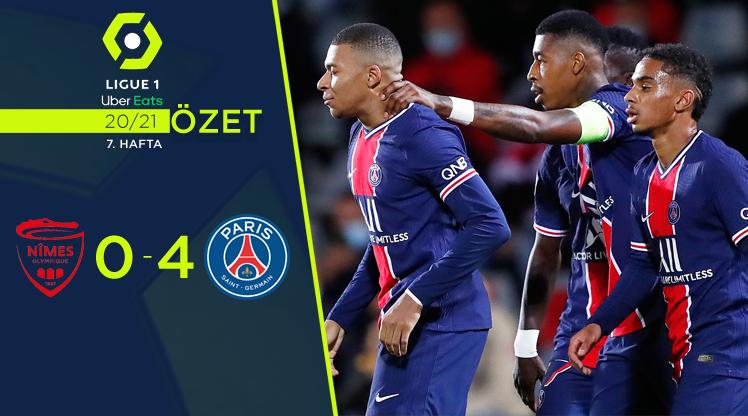 Nimes Olympique Paris St Germain maç özeti
