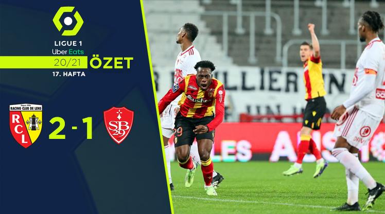 Lens Stade Brest 29 maç özeti