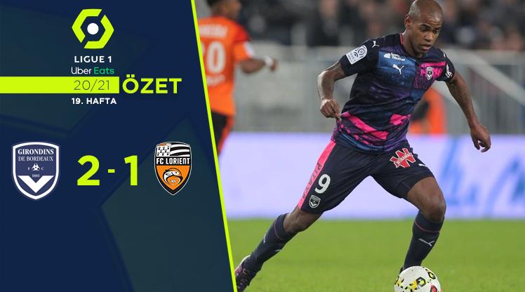 Bordeaux Lorient maç özeti