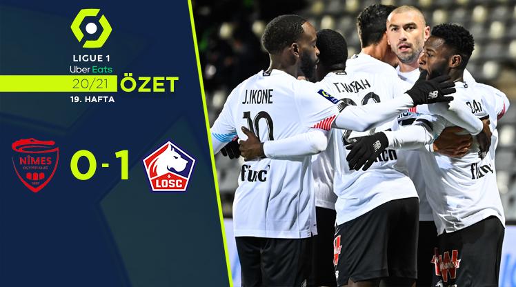 Nimes Olympique Lille maç özeti
