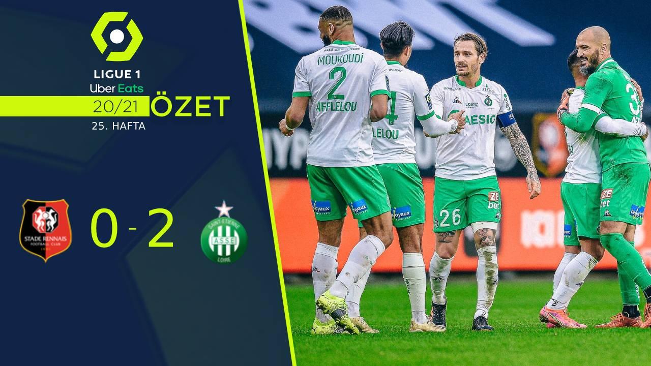 Rennes Saint Etienne maç özeti
