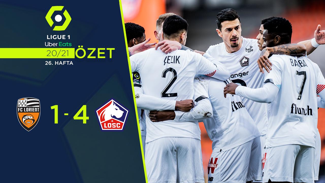 Lorient Lille maç özeti