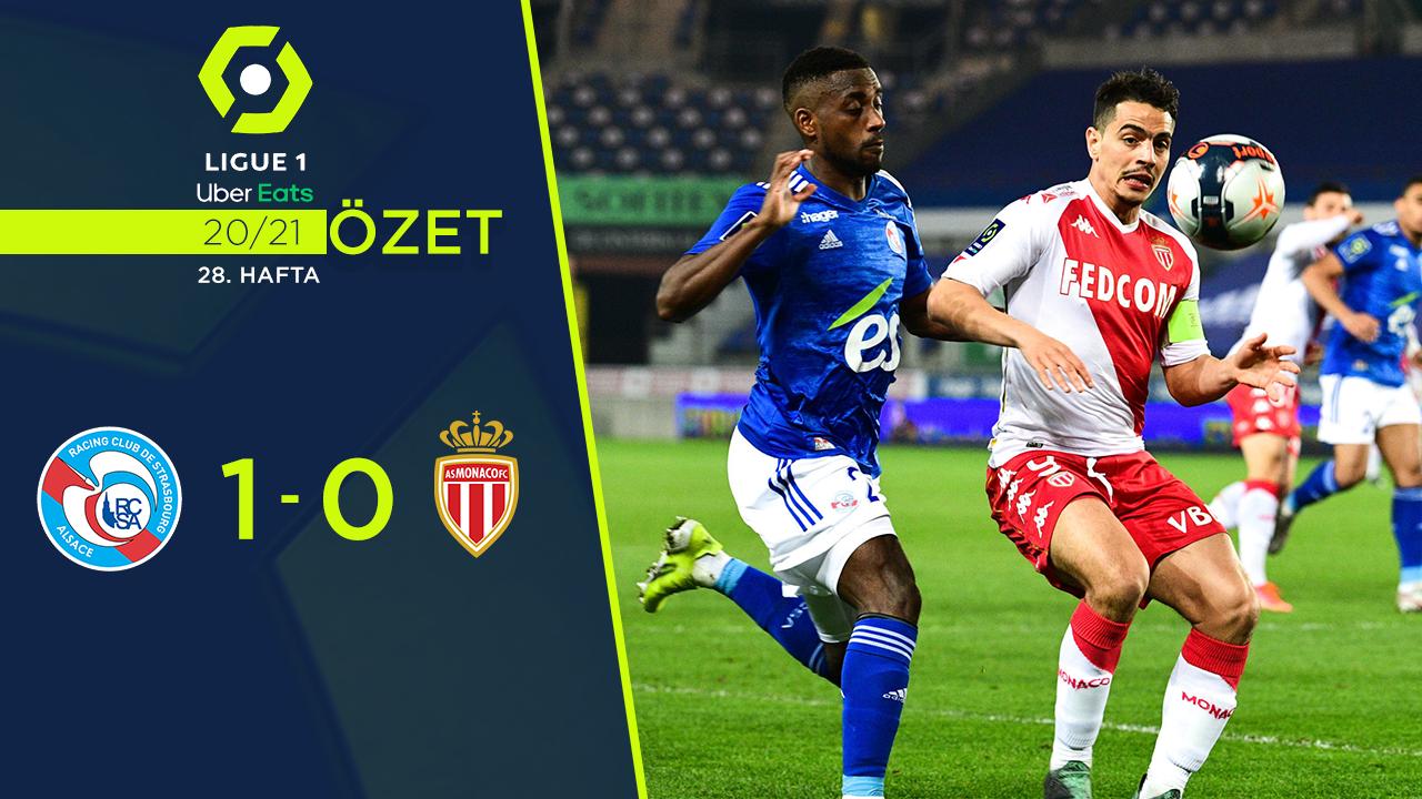 Strasbourg Monaco maç özeti