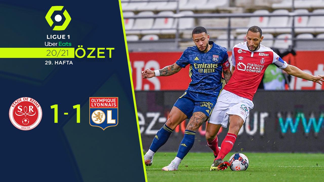 Reims Olympique Lyon maç özeti