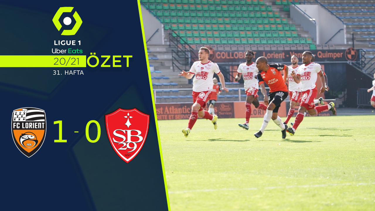 Lorient Stade Brest 29 maç özeti