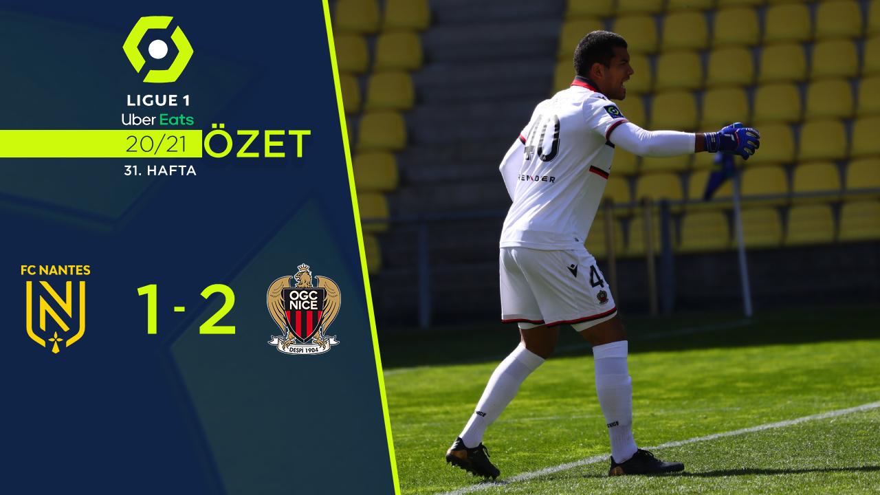Nantes Nice maç özeti