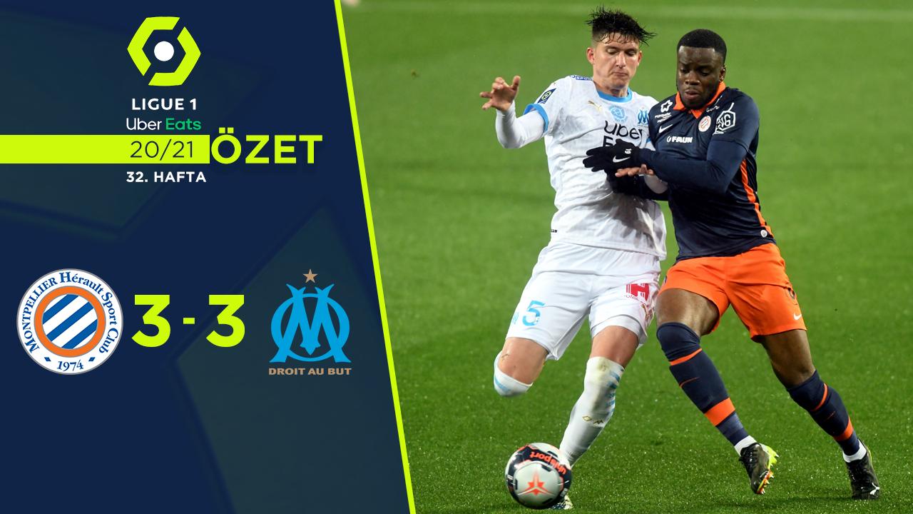 Montpellier Marsilya maç özeti