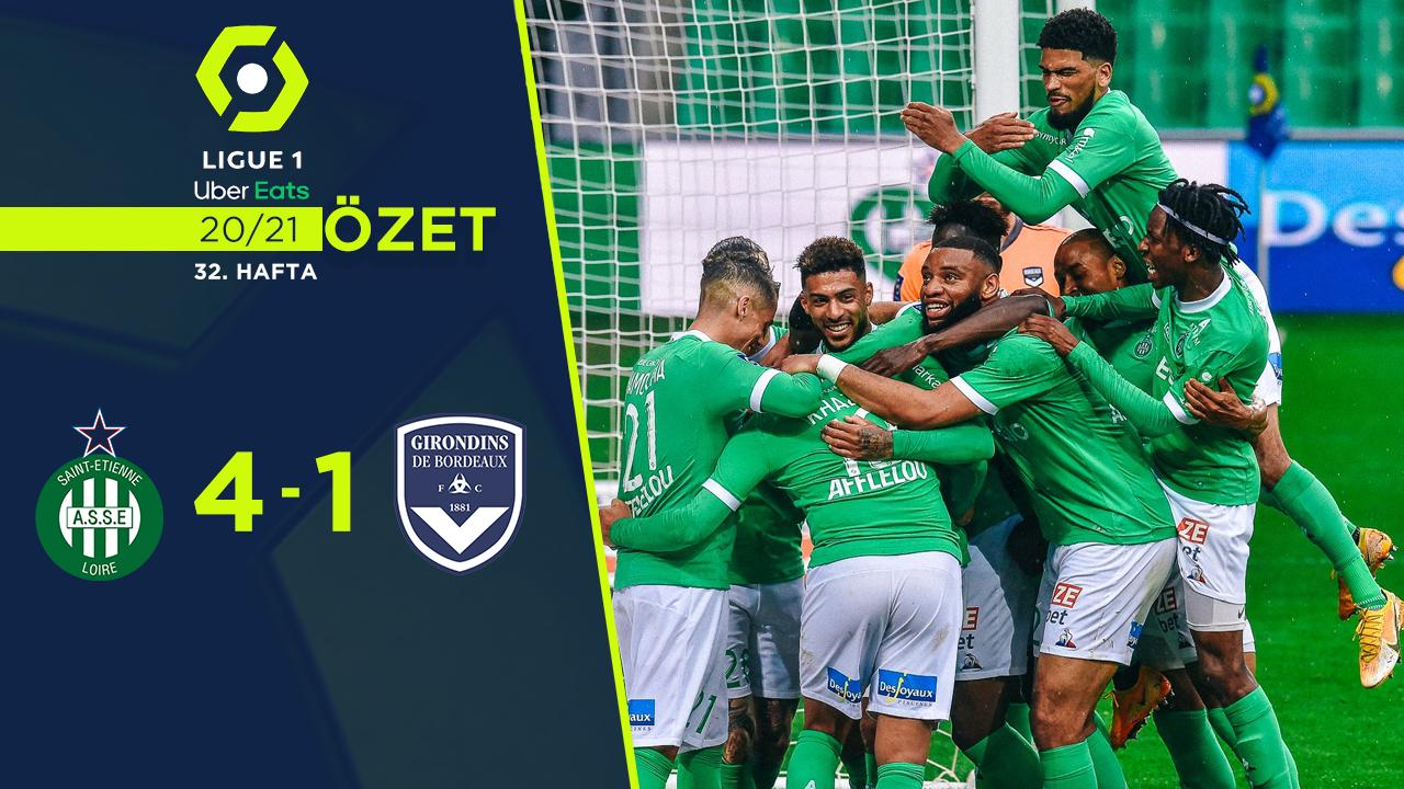 Saint Etienne Bordeaux maç özeti