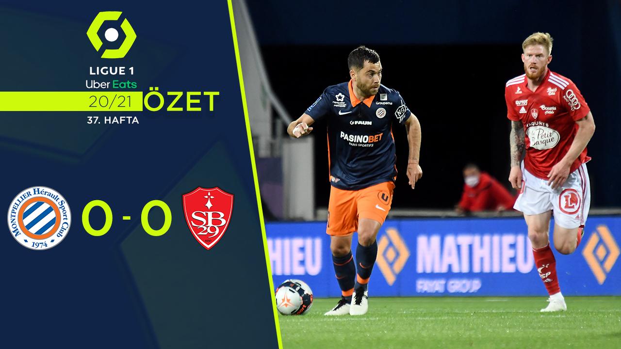 Montpellier Stade Brest 29 maç özeti