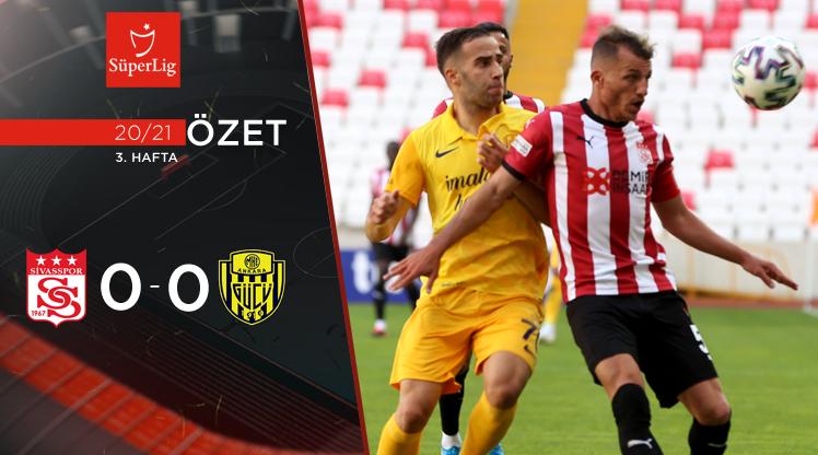 Demir Grup Sivasspor MKE Ankaragücü maç özeti