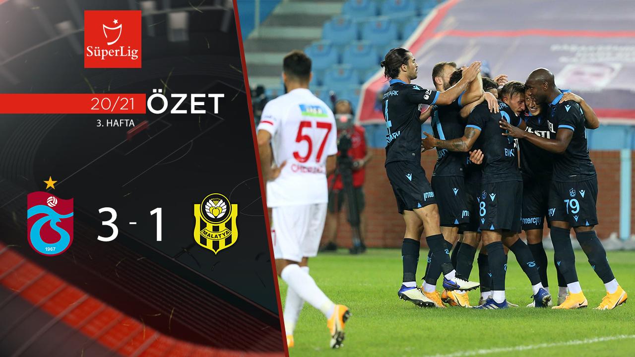 Trabzonspor Yeni Malatyaspor maç özeti