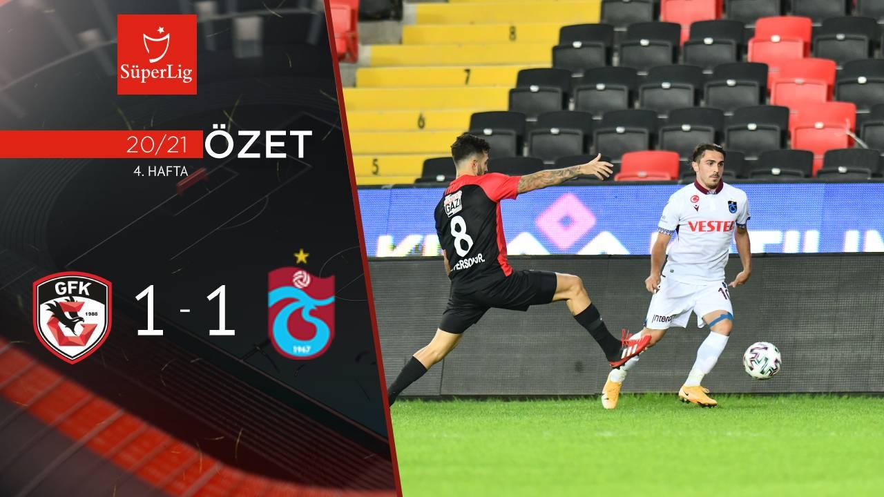 Gaziantep FK Trabzonspor maç özeti