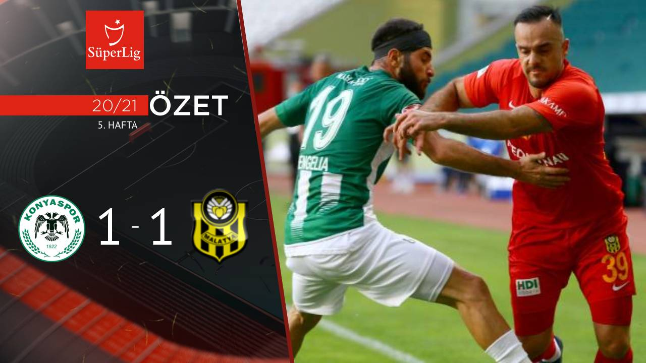 İttifak Holding Konyaspor Yeni Malatyaspor maç özeti