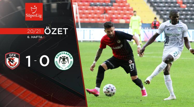 Gaziantep FK İttifak Holding Konyaspor maç özeti