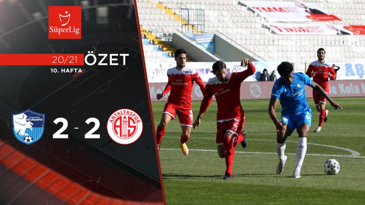 BŞB Erzurumspor Fraport TAV Antalyaspor maç özeti