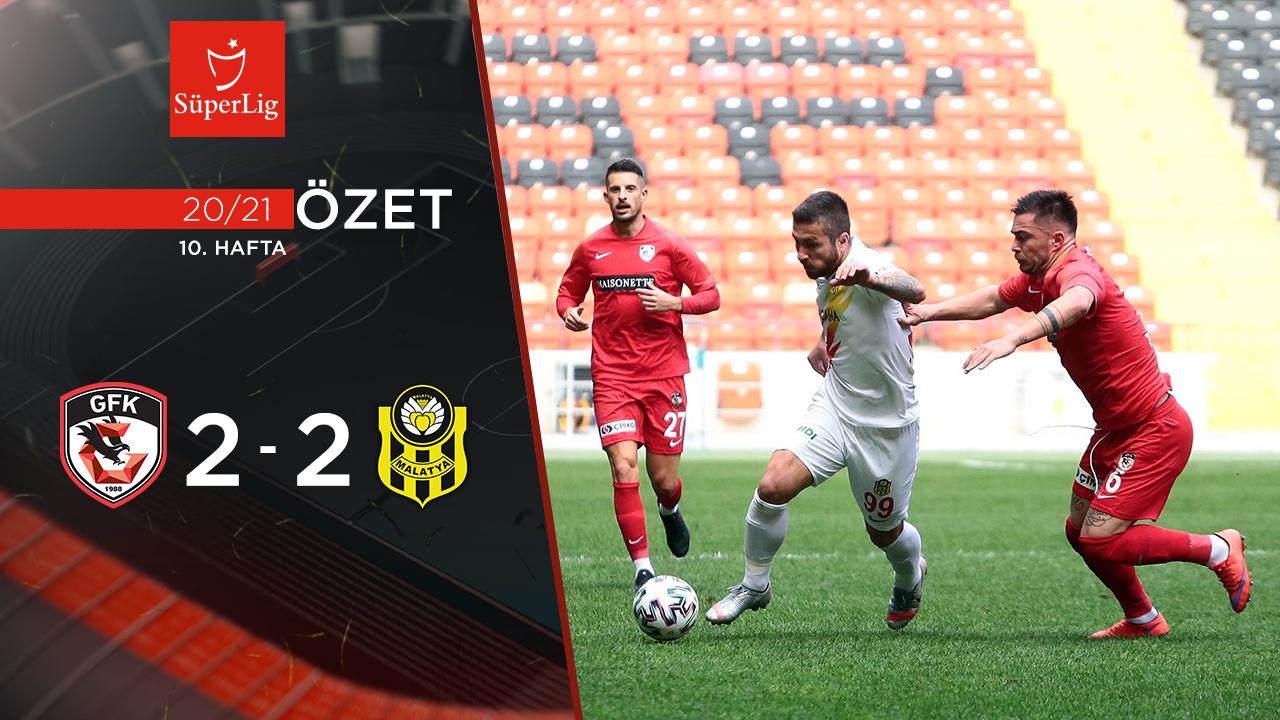 Gaziantep FK Yeni Malatyaspor maç özeti