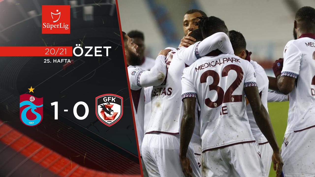 Trabzonspor Gaziantep FK maç özeti
