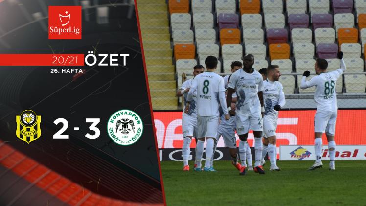 Yeni Malatyaspor İttifak Holding Konyaspor maç özeti