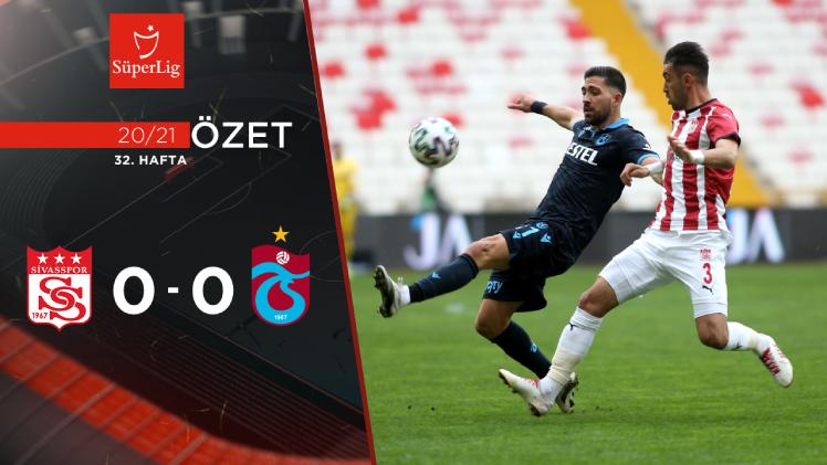 Demir Grup Sivasspor Trabzonspor maç özeti