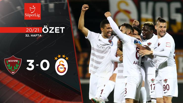 Atakaş Hatayspor Galatasaray maç özeti
