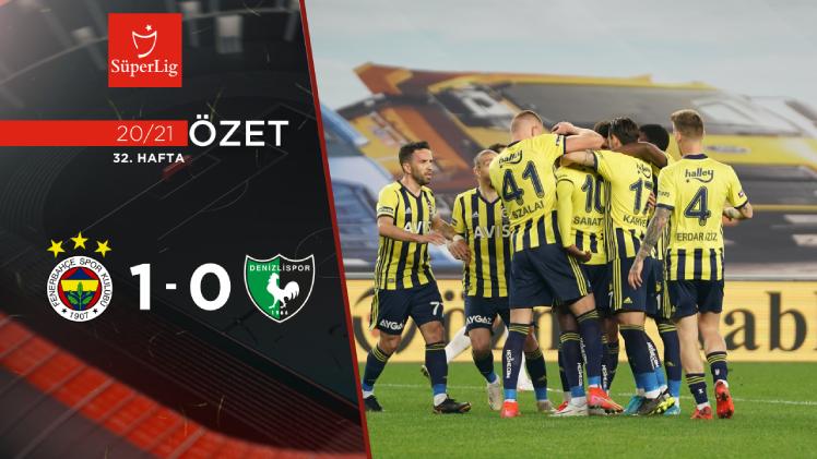 Fenerbahçe Yukatel Denizlispor maç özeti