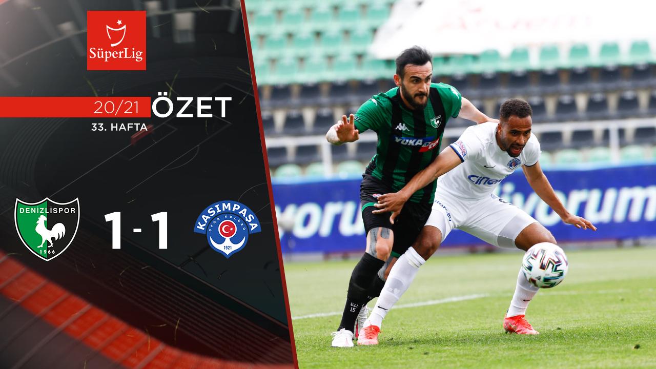 Yukatel Denizlispor Kasımpaşa maç özeti