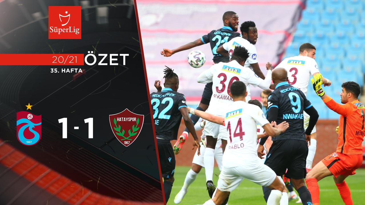 Trabzonspor Atakaş Hatayspor maç özeti