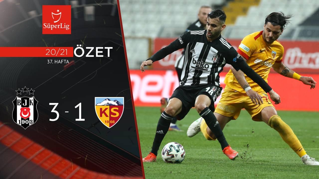 Beşiktaş Hes Kablo Kayserispor maç özeti