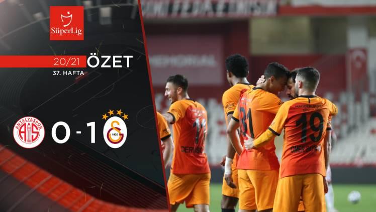 Fraport TAV Antalyaspor Galatasaray maç özeti