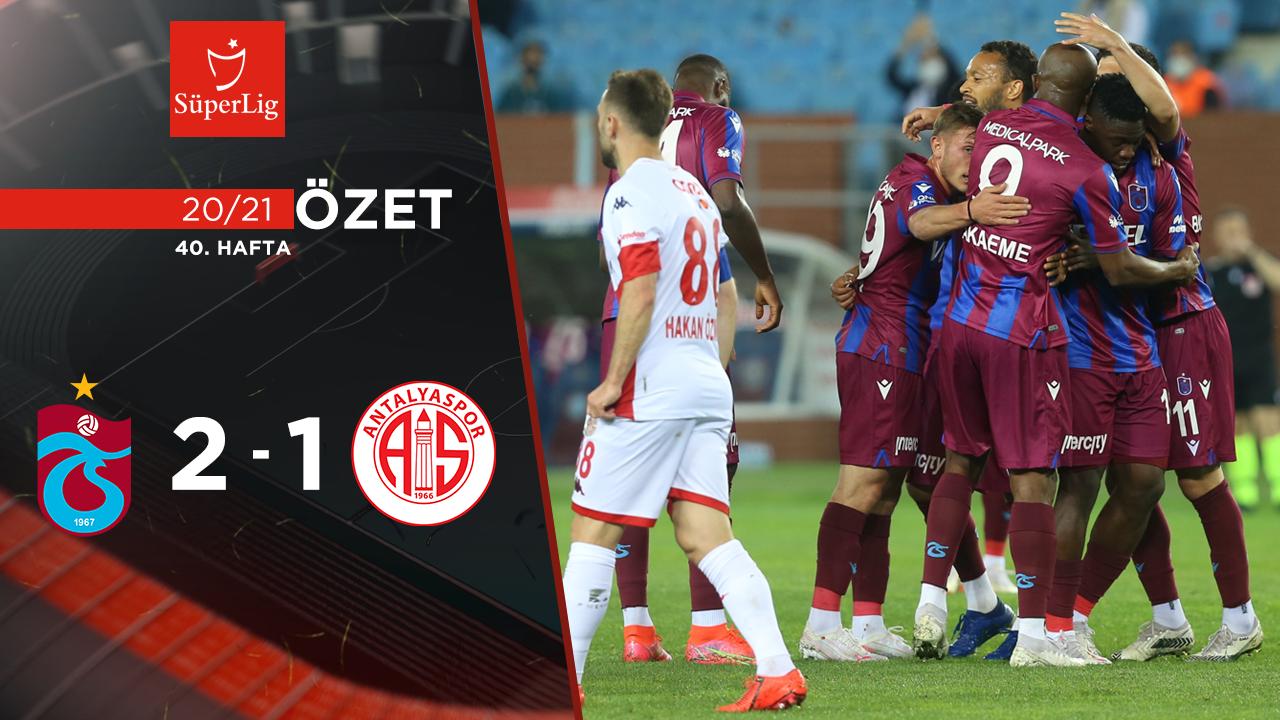 Trabzonspor Fraport TAV Antalyaspor maç özeti