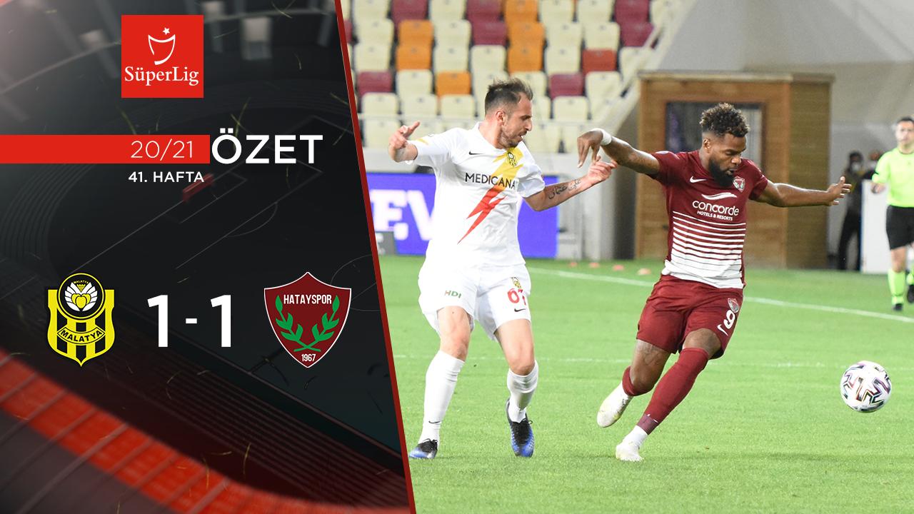 Öznur Kablo Yeni Malatyaspor Atakaş Hatayspor maç özeti