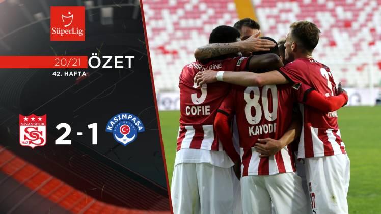 Sivasspor Kasımpaşa maç özeti