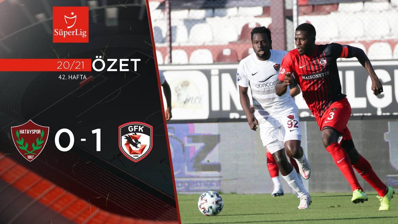 Atakaş Hatayspor Gaziantep FK maç özeti