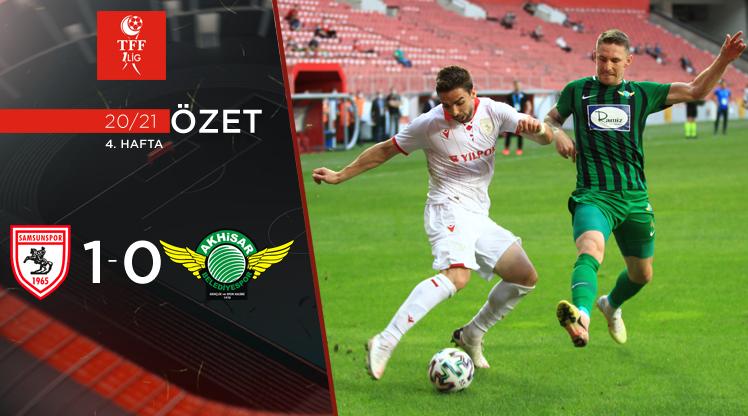 Yılport Samsunspor Akhisarspor maç özeti