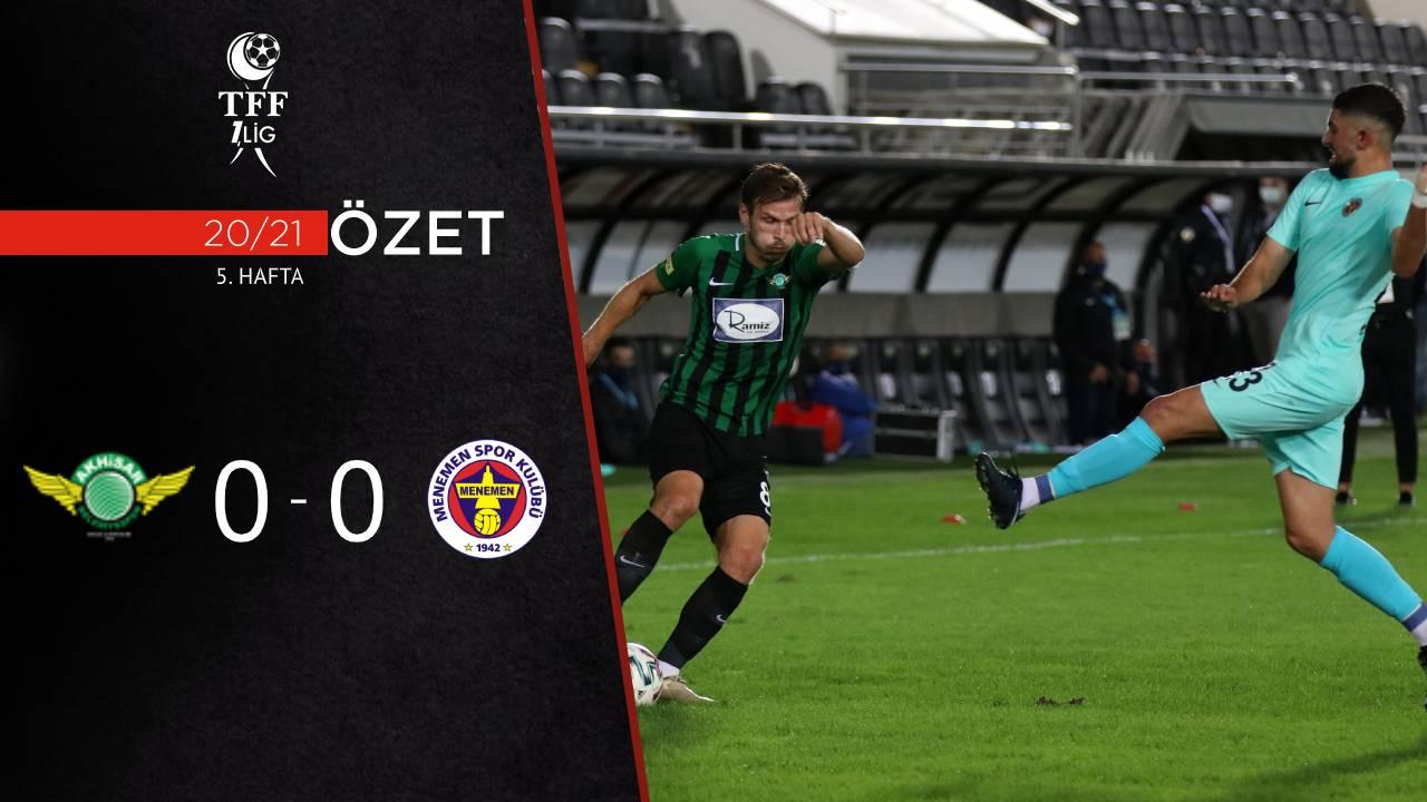 Akhisarspor Menemenspor maç özeti