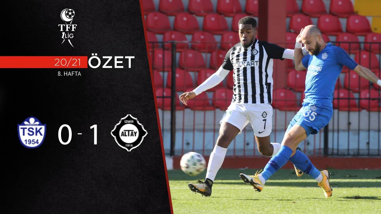 Tuzlaspor Altay maç özeti