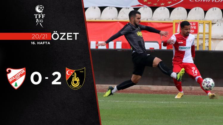 Beypiliç Boluspor İstanbulspor maç özeti
