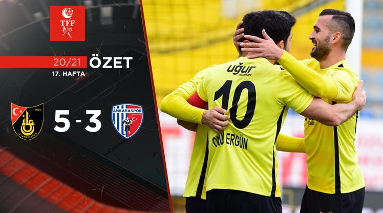 İstanbulspor Ankaraspor maç özeti